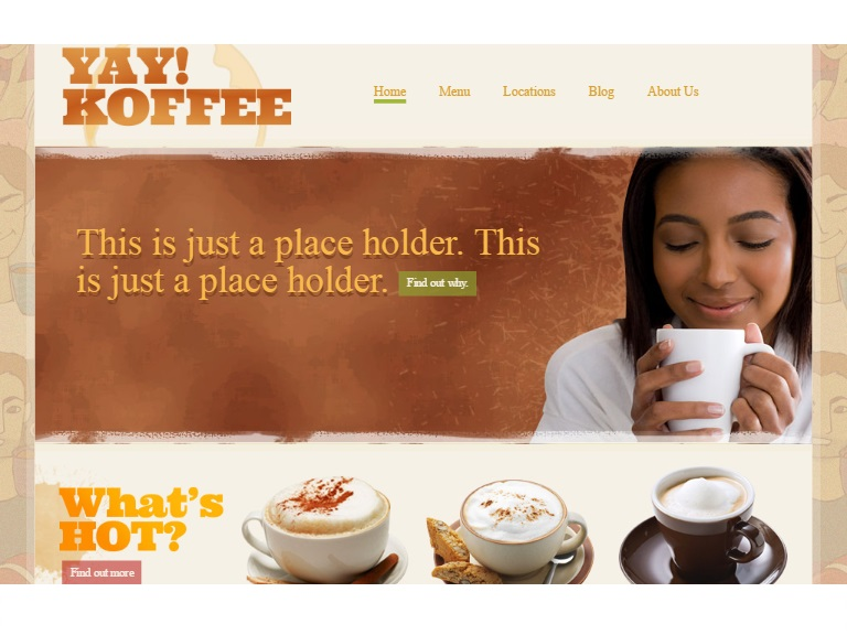 coffee shop in free restaurant templates