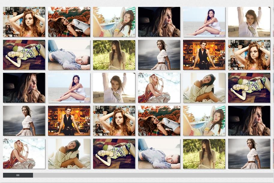 Media Grid Image Gallery