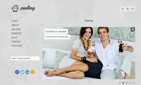 puding multipurpose template