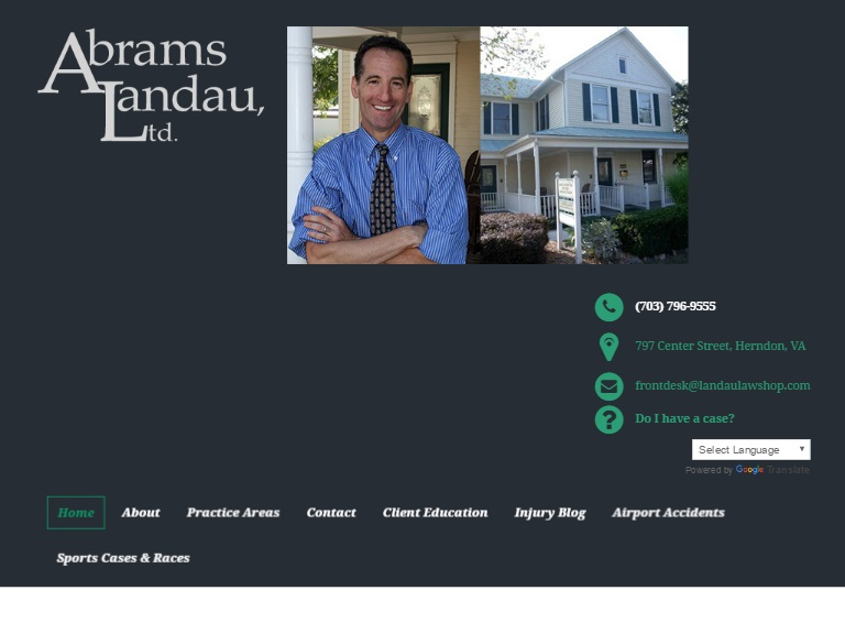 Doug Landau and the Abrams Landau Law Firm
