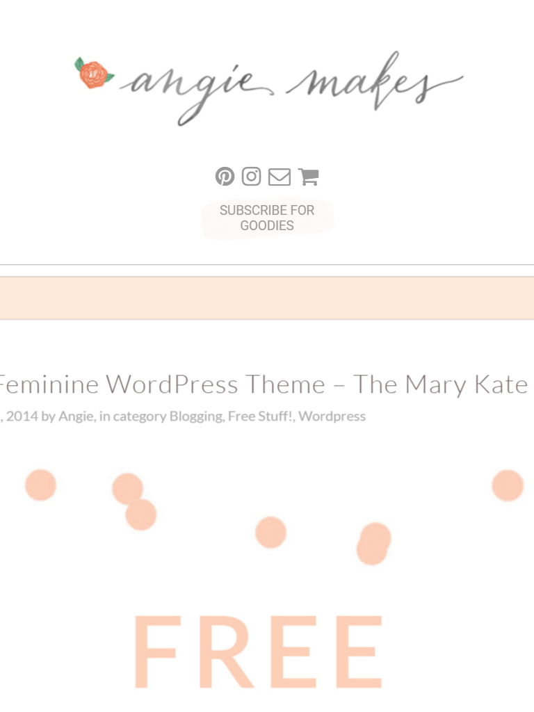 Mary kate theme