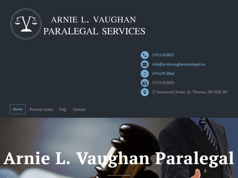 Arnie L. Vaughan Paralegal Services
