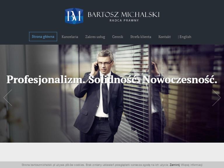 Kancelaria Radcy Prawnego Bartosz Michalski