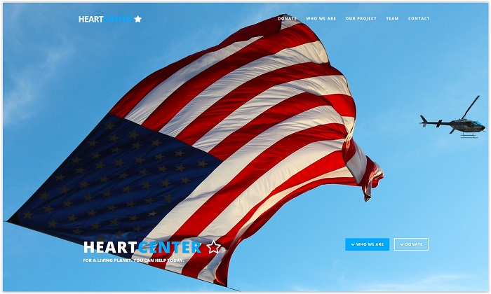 HeartCenter Multipurpose Non-Profit Template