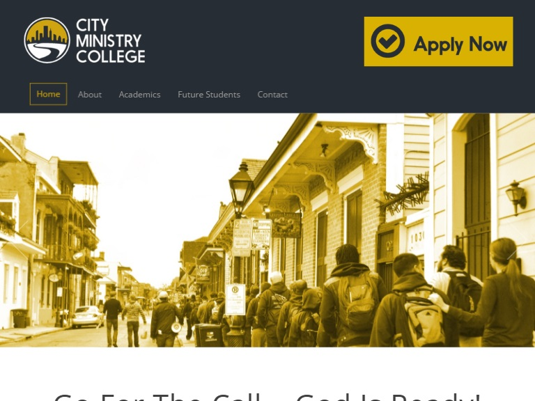 City Ministry College by Lawyers Theme