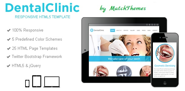 Dental Clinic Medical Template