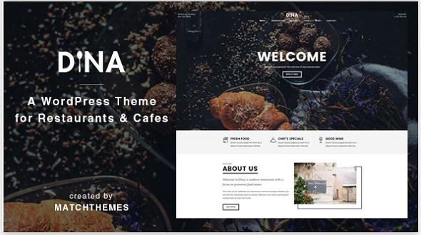 Free Restaurant WordPress Themes of 2017