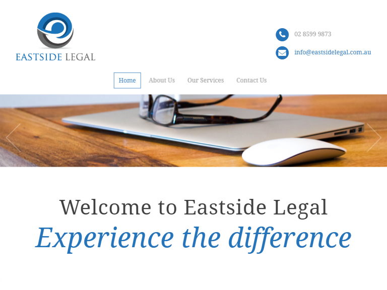 east side legal lawyers theme