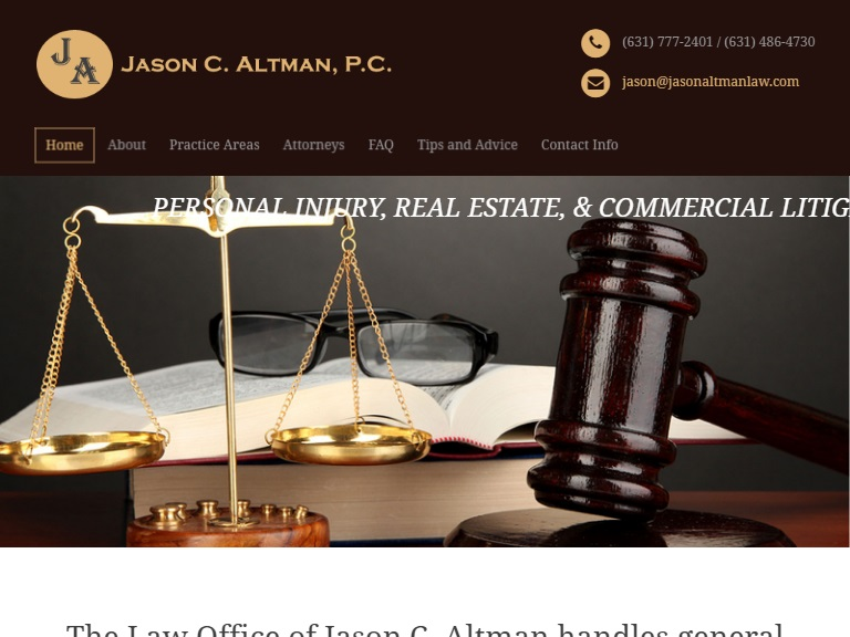The Law Office of Jason C. Altman