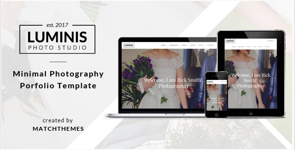 luminis photography template