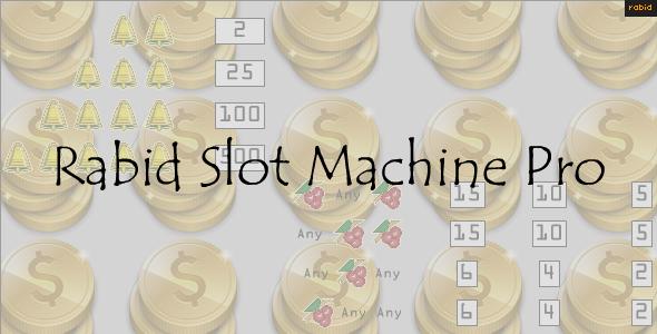 Slot Machine Game Template