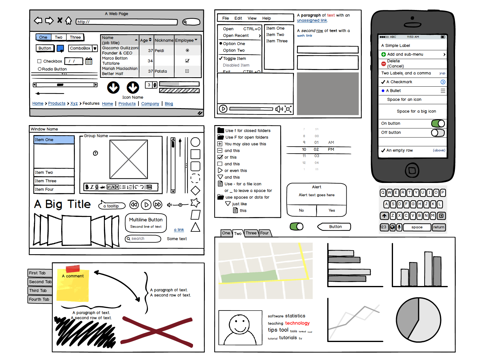Top Design Wireframe Tools