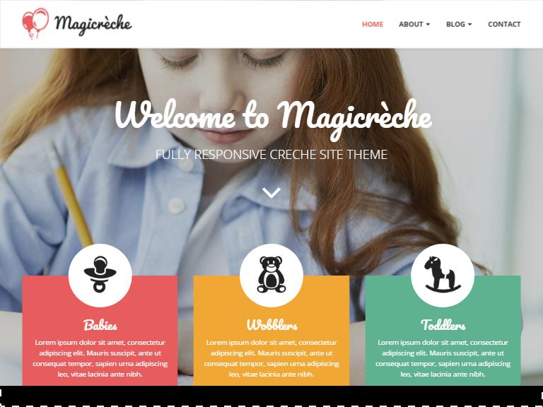 Magicreche – Responsive primary school template