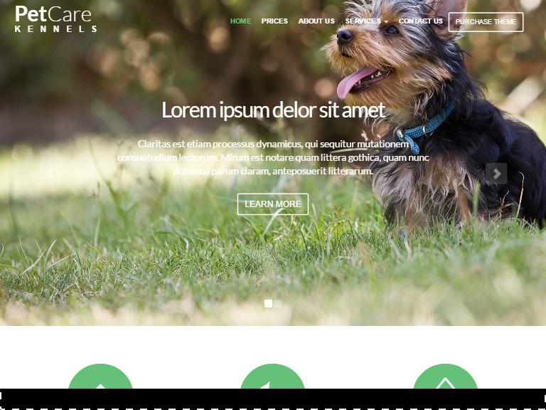 Pet Care template