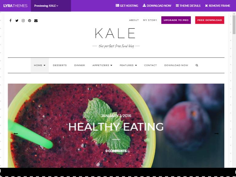 kale theme